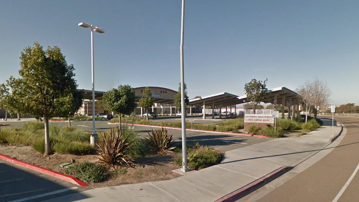 San Ysidro High School is located at 5353 Airway Rd.