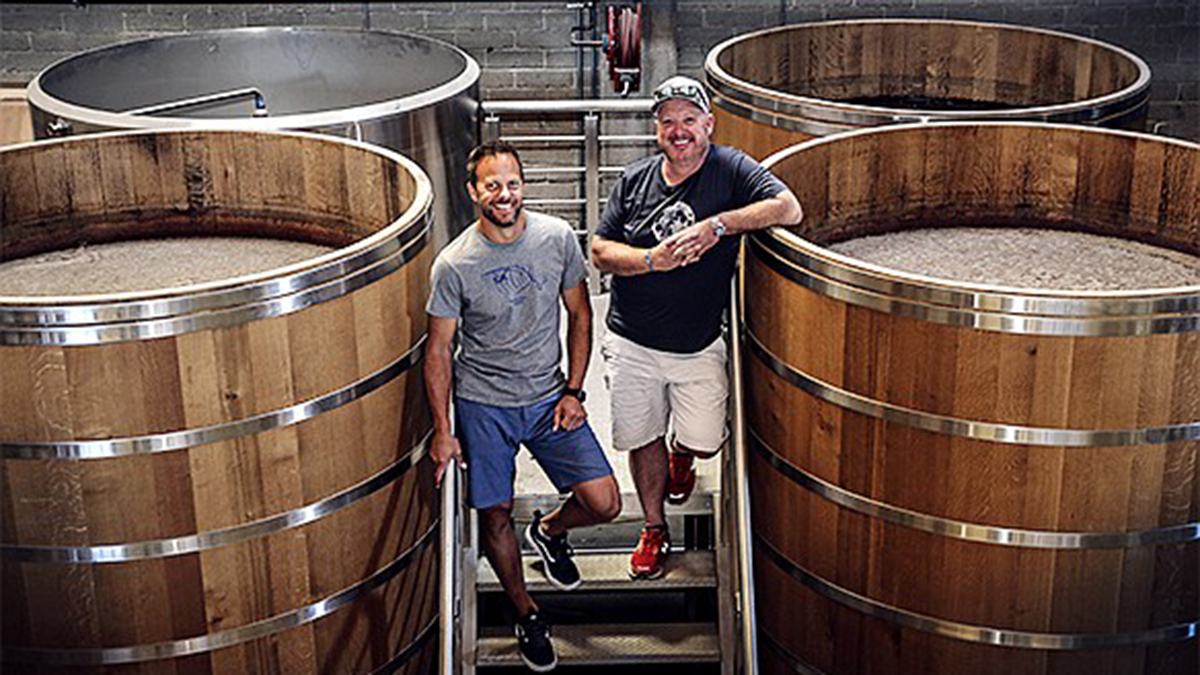 Steve Kuftinec (R), co-founder of Storyhouse Spirits with partner Matt Kidd (L), believes that, like the craft beer scene in San Diego, craft spirit is on a similar, if not more accelerated trajectory of growth.