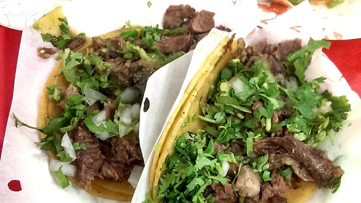 Tacos El Gordo -- a popular Mexican eatery in Chula Vista -- made the list at No. 17 of Yelp's
