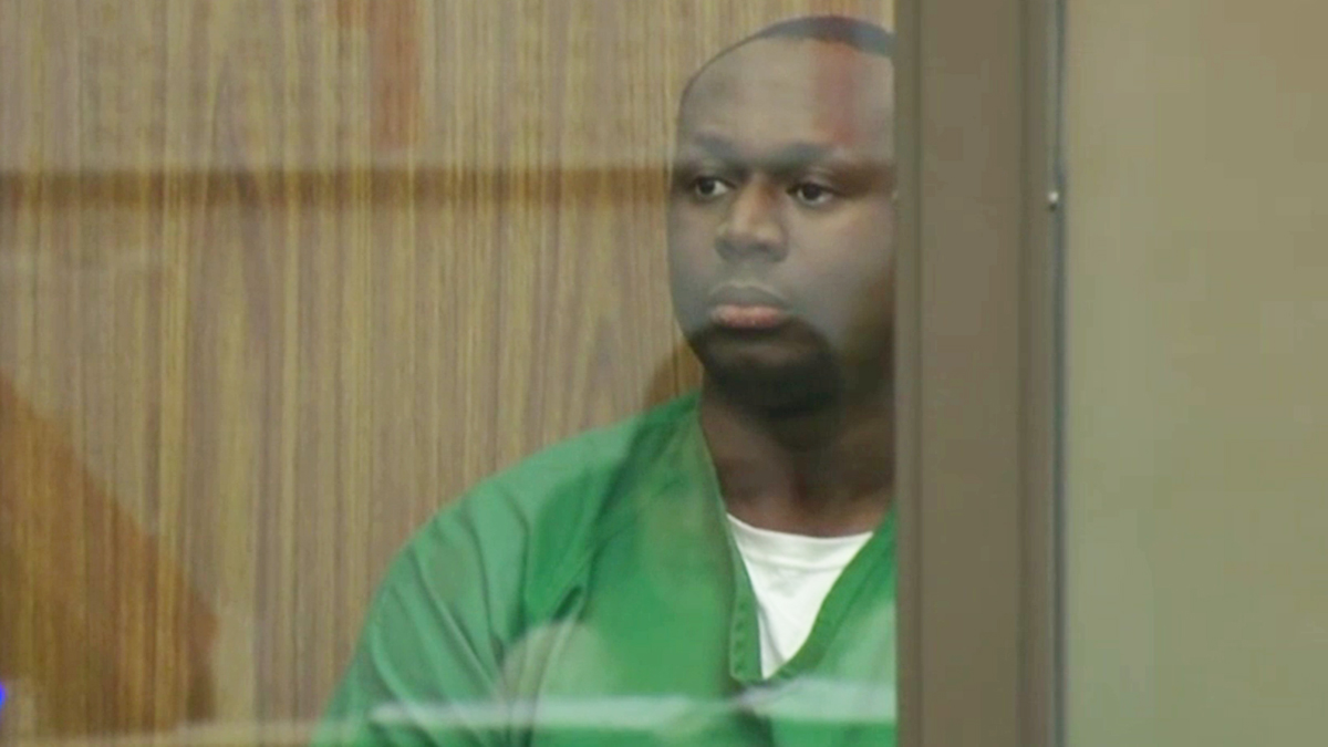 Timothy Wilson, Jr. appears in court on Tuesday, May 22, 2018.