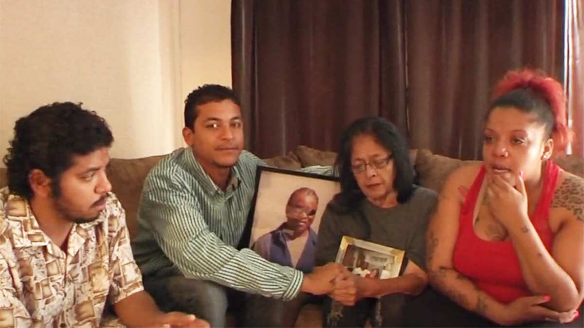 An image of Willie Clark, Jr.'s family captured in 2016 by NBC 7.