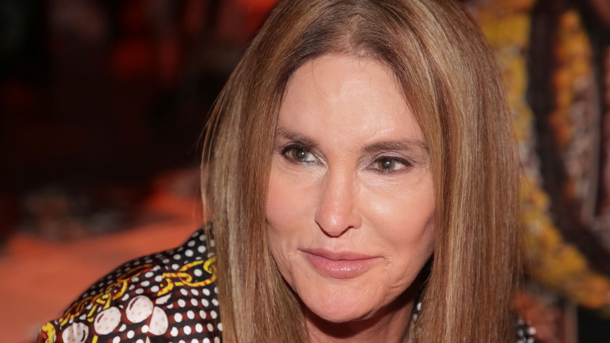 Caitlyn Jenner attends the Jeremy Scott Runway Show at Spring Studios during New York Fashion Week on Thursday, Sept. 6, 2018 in New York.