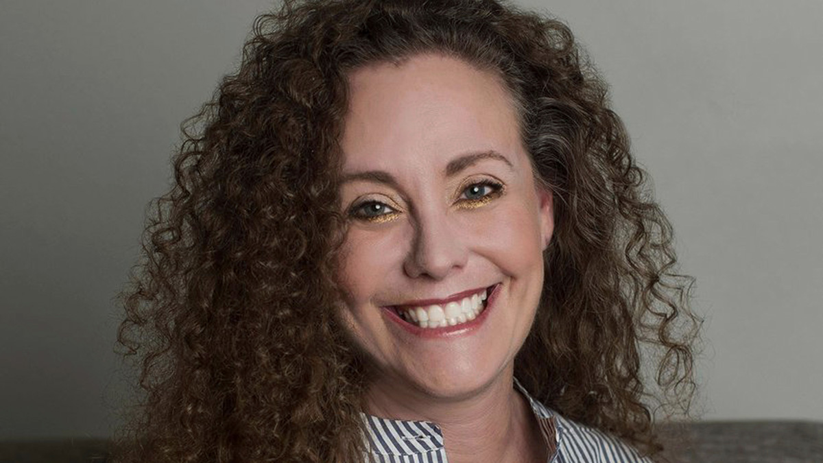 This undated photo of Julie Swetnick was released by her attorney Michael Avenatti via Twitter, Wednesday, Sept. 26. 2018.