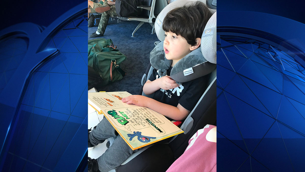 Rockwall parents say the were kicked off a flight because of their autistic son, Thursday, October 4, 2018.