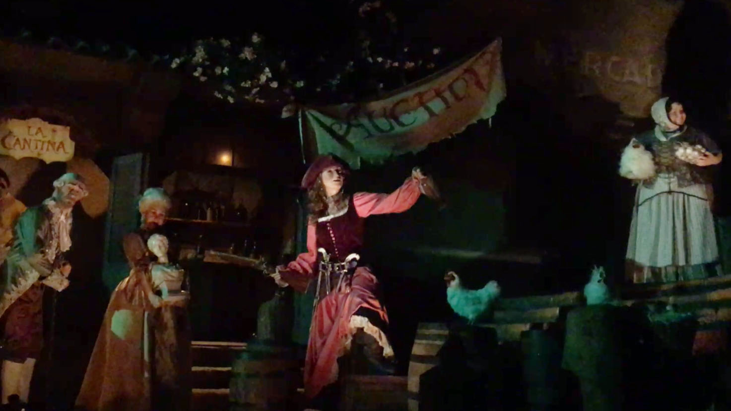 Redd the pirate is the newest addition to the classic Pirates of the Caribbean ride, which opened at Disneyland in 1967. The ride has undergone several transformations since then.