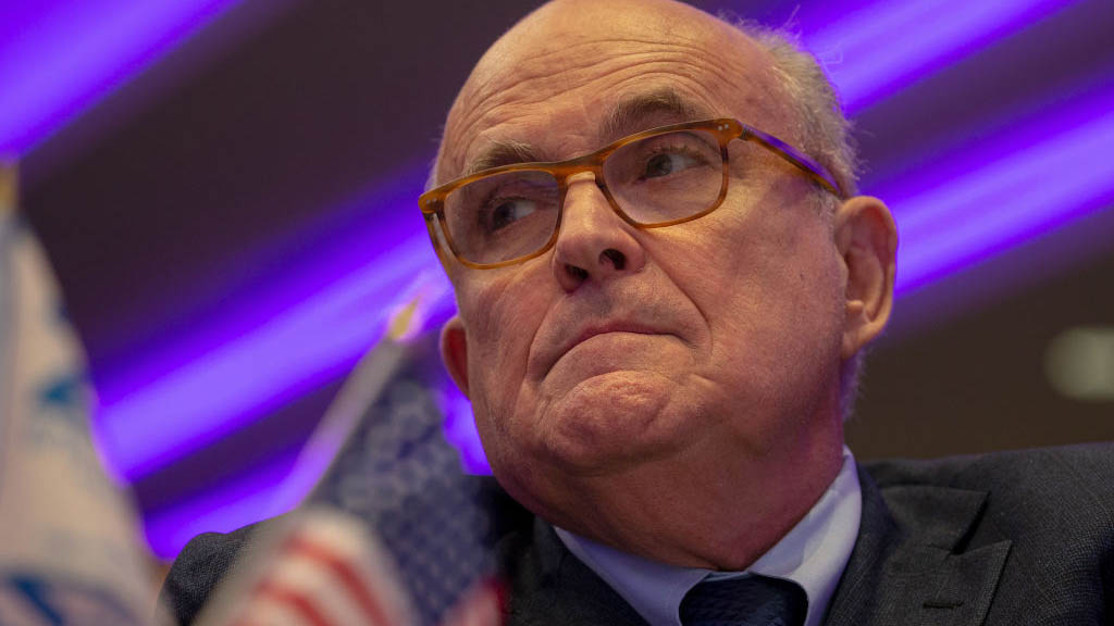 Rudy Giuliani, President Donald Trump's personal lawyer, in photo from May 2018 in Washington, DC.