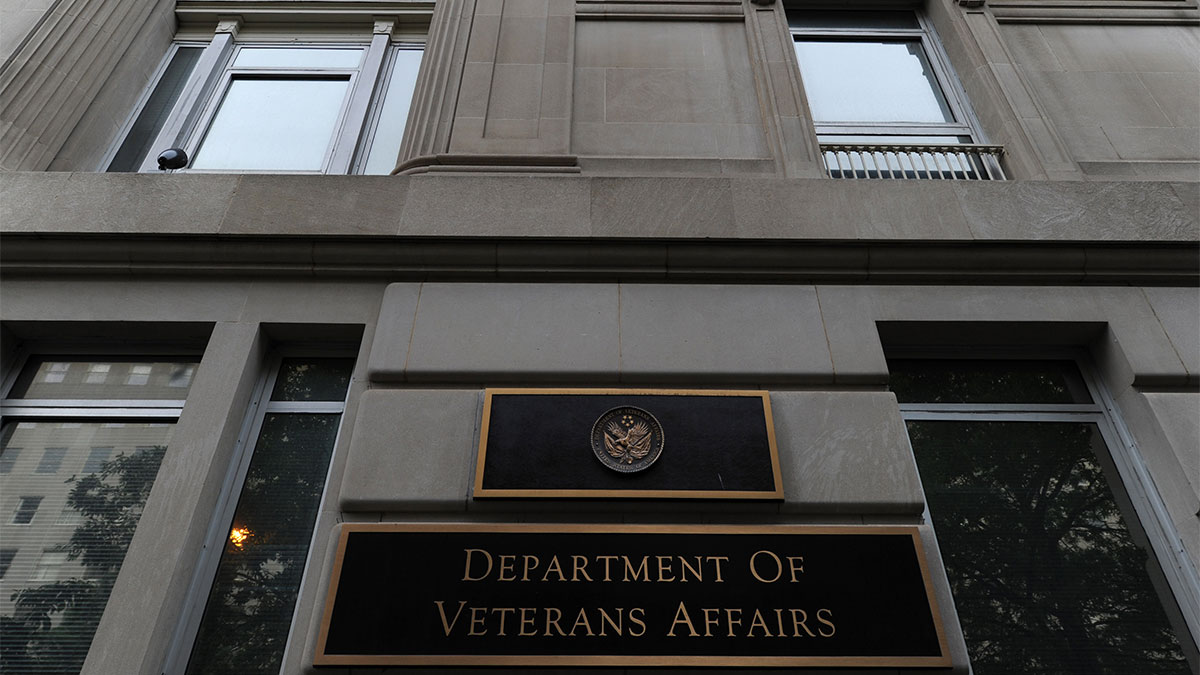 The United States Department of Veterans Affairs headquarters is seen on Wednesday May 28, 2014 in Washington, DC.